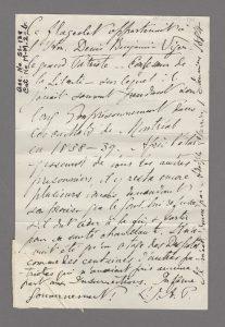 Image d'un manuscrit