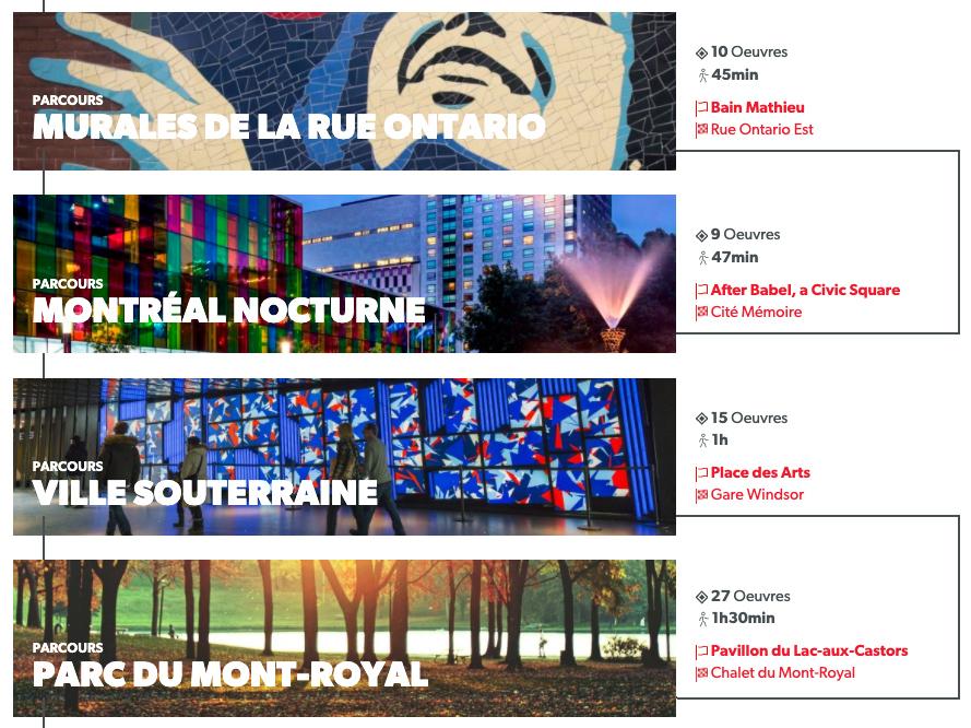 Extrait du site Art Public Montréal